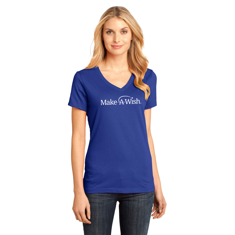 LADIES' PERFECT WEIGHT V-NECK TEE